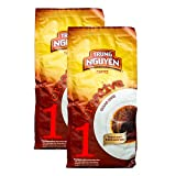 Trung Nguyen Vietnamese Coffee - 2 Pack - Creative 1 Culi Robusta, Vietnamese Gourmet Ground Coffee, Brewed in Phin Filter