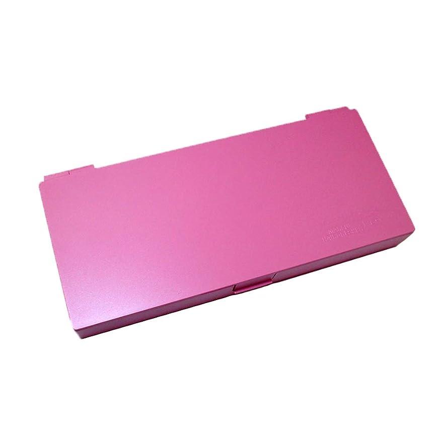 アンソロジー熟読多様なアップスタイリングシステムボックス (ピンク) ノンスリップ ヘアピン ケース コスメボックス メイクボックス メークボックス メイクケース メークケース