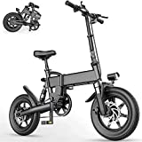 Bicicletas Eléctricas, Las bicicletas plegables bicicleta eléctrica 15.5Mph aleación de aluminio eléctricos for Adultos con 16' Neumático Y 250W 36V motor de la E-Bici ciudad conmute impermeable 3-Mod