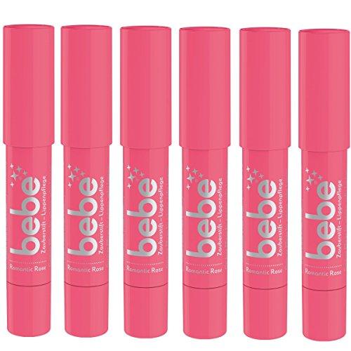 bebe Zauberstift Lippenpflege romantic rose 6x2,5g