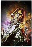 ZRRTTG Leinwand Druck Poster Neil Young Legendärer
