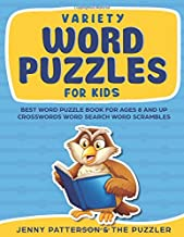 VARIETY WORD PUZZLES FOR KIDS: Best Word Puzzles for Kids Ages 8 and Up (Puzzler Series)