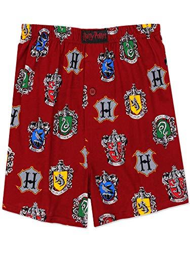 Harry Potter Hogwarts Häuser Herren Briefly Stated Boxershorts Unterwäsche - Rot - XX-Large
