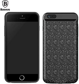 Iphone 7 Plaid Backpack Power Bank Case 2500MAH Black