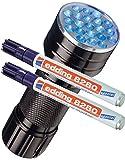 Edding 8280 - Rotulador especial Securitas UV de luz...