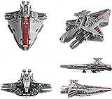 Technology Space Cruiser Juego Construcción Star Destroyer Kit Construcción 6685 Piezas, Tecnología Nave Espacial Compatible con Lego Star Wars Molde King Star Destroyer 21005