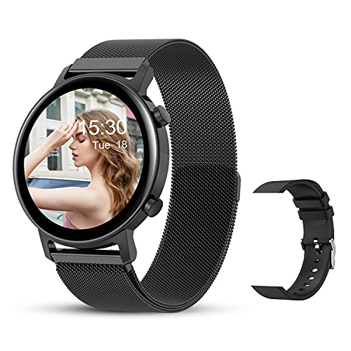Smart Watches for Women, Smartwatch for Android Phones and iOS...