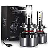 LTPAG Lampadine H7 LED, Nuovo 72W 12000LM Fari Abbaglianti o Anabbaglianti per Auto -...