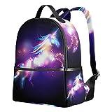 Kids Backpack Girls Unicorn Printed School Book Shoulder Bag Daypack Lightweight Book Bags Schoolbag...