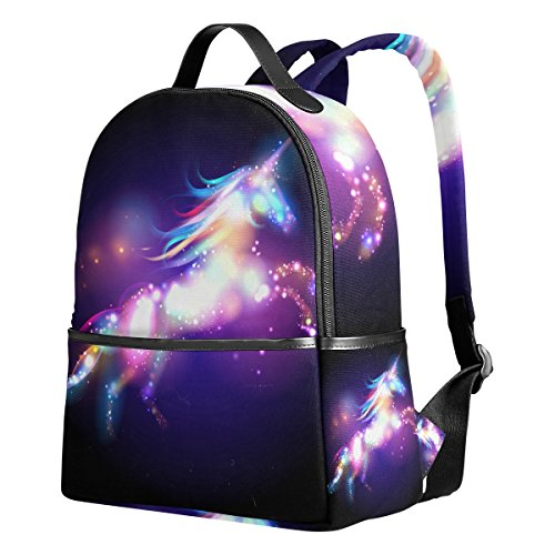 Kids Backpack Girls Unicorn Printed School Book Shoulder Bag Daypack Lightweight Book Bags Schoolbag 1th 2th 3th Grade for Boys Teen Girls Kids
