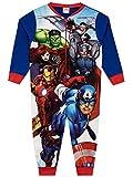 Marvel Pigiama a Tuta Intera per Ragazzi Avengers Blu 9-10 Anni