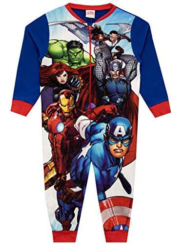 Marvel Enterizo para Niños Avengers Azul 9-10 Años