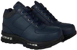 LABO Men`s Black Hiking Leather Boot Air Heel #5712