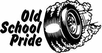 ION Graphics Old School Pride Rat Rod Hot Rods Muscle Car Vintage Performance Sticker