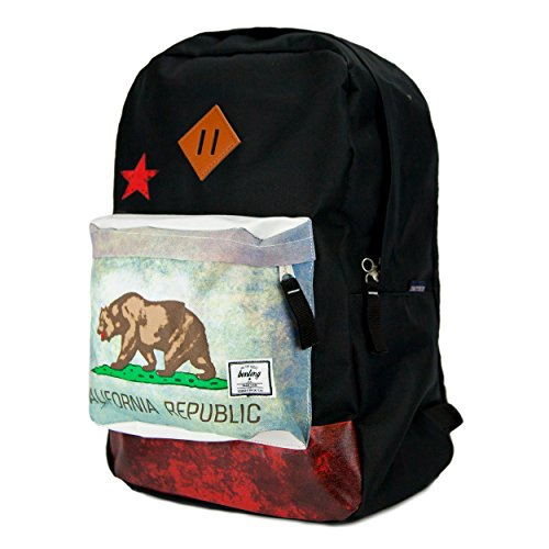 Superbreak Backpack, California Republic Rucksack School Backpack (Mixed Color)
