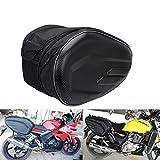 YSMOTO - Alforjas para motocicleta, bolsa de viaje, impermeable, bolsas de equipaje, 36 L-58 L, capacidad ampliable, para motocicletas deportivas