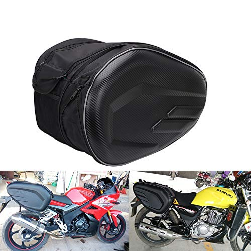 Ysmoto Borse da moto, impermeabili, da viaggio, 36-58 litro, capacità espandibile, per moto sportiva