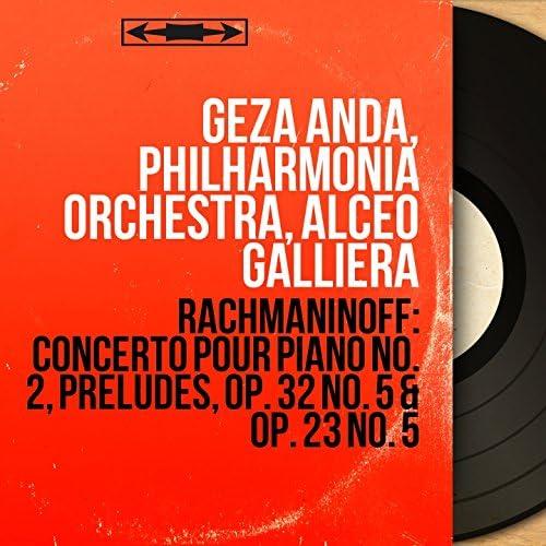 Géza Anda, Philharmonia Orchestra, Alceo Galliera