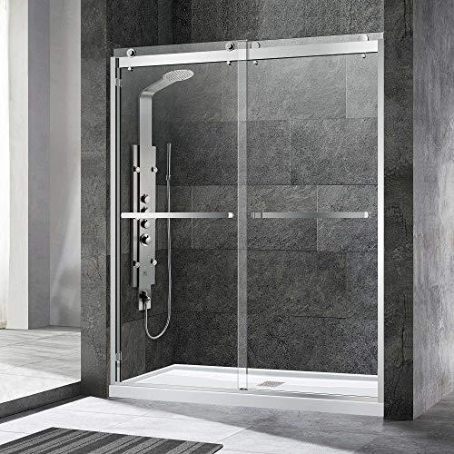 WOODBRIDGE SDD6076-C Frameless Shower Doors 56-60