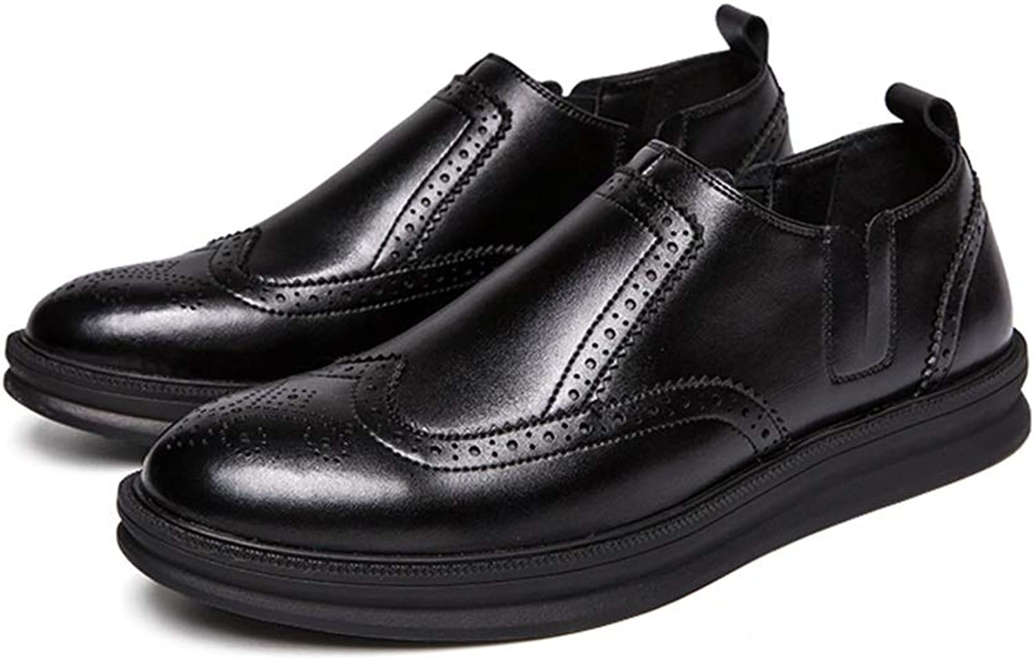 Business Oxford Casual Classic Carvings British Style Brogue shoes for Men
