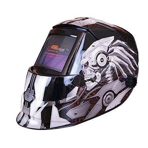 Máscara de Solda Automática Tonalidade 11 Fixa Silver-TITANIUM-5243