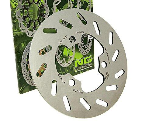 NG Brake Disc/ Disque de Frein NG ondul/é 1448/X /Ø 260/X /Ø 128/X 3,5/ /9621448/X