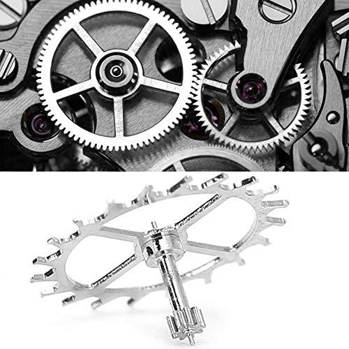 Accesorio de movimiento de reloj, pieza de repuesto de reloj de rueda de escape para ETA 2824-2 2836-2 2834 Herramienta de reparación de removedor de reloj