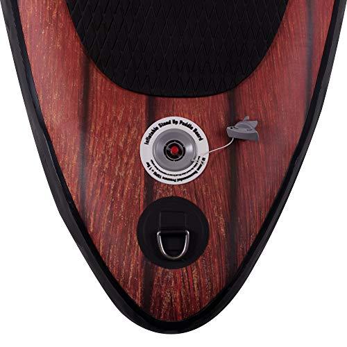 Suprfit SUP Board I Stand up Paddle Board I Komplettset: Paddelboard, Transporttasche, Paddel, Luftpumpe, Sicherungsleine, Reparaturset I Modell Kaleo: 330 x 78 x 15 cm | max. 130 kg