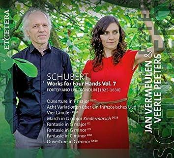 Schubert: Works for Four Hands, Vol. 7