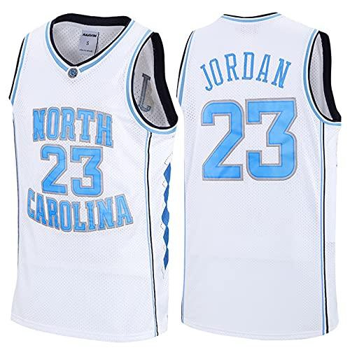 GFQTTY NBA Jersey Chicago Bull 23# North Carolina Basketball Jersey Retro Bordado Malla Transpirable Chaleco De Baloncesto De Secado Rápido, Camisetas De Fan