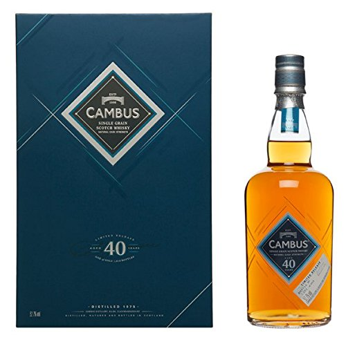 Cambus 40 Years Special Release 2016 Single Grain Scotch Whisky 52,7% 0,7l Flasche