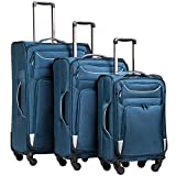 Best Suitcases Sets - Coolife Luggage 3 Piece Set Suitcase Spinner Softshell Review