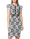 Marca Amazon - TRUTH & FABLE Vestido Midi de Encaje Mujer, Multicolor (Multicolour Multicolour), 44, Label: XL