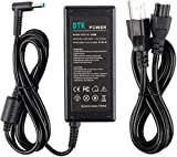 DTK 19.5V 3.33A 65W Ac Laptop Charger for HP 710412-001 PPP009C PPP009D Adapter Blue Tip : 4.5 X 3mm with Center Pin Inside Notebook Computer PC Power Cord Supply Source Plug