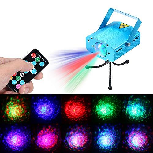 LED Par koplampen 5W 3 LED RGB golven stadiumverlichting verlichting lamp ondersteunde Car RGB geluid geactiveerd afstandsbediening snelheid instelbaar