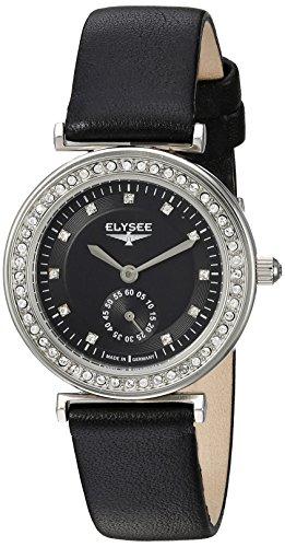 Elysee edle Damen Armbanduhr Maia Quarz mit Datumsanzeige