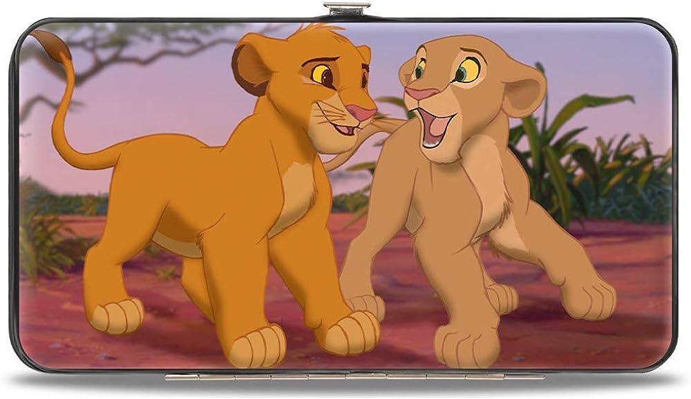 Buckle-Down Women's Standard Hinge Wallet-The Lion King, 7