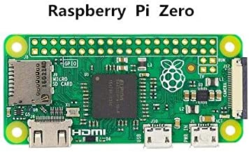 Part & Accessories Raspberry Pi Zero W Board with WIFI & Bluetooth 1GHz CPU 512MB RAM 1080P HD and Raspberry Pi Zero V 1.3 Board 1GHz CPU 512MB - (Color: Pi zero)
