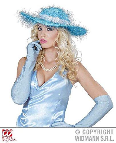 Widmann - Chapeau bleu femme glamour