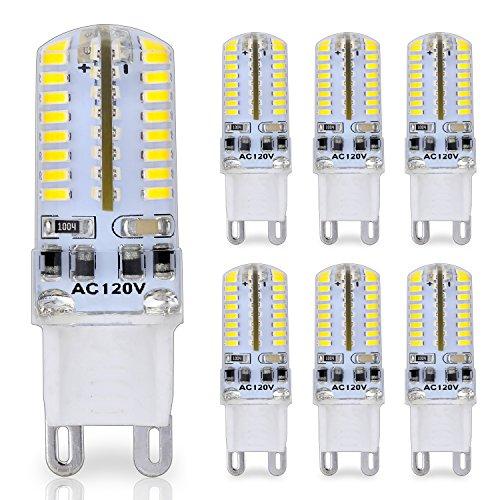 Bombilla LED con casquillo de patillas G9, 25W Cristal Luz halógena Bombillas...