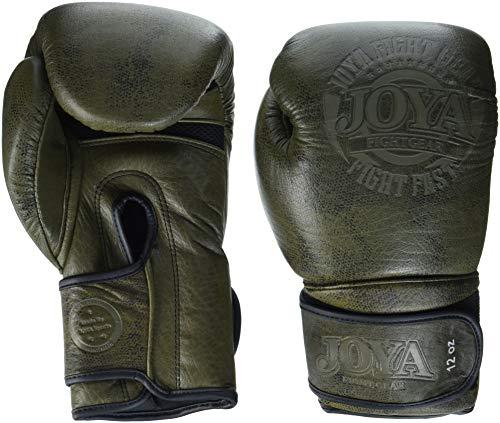 Joya kick-boxing handschoenen Fight Fast (leder) groen -12 oz