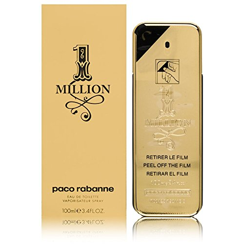 Paco Rabanne 1 Million Eau de Toilette, Uomo, 100...