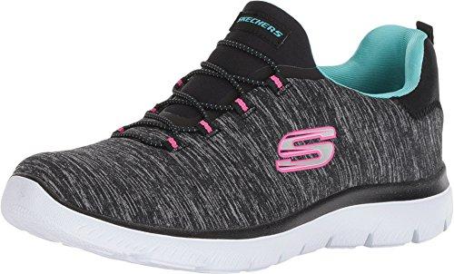 Skechers Women's Summits-Quick Getaway Shoe, Bklb, 9 M US