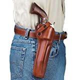 Galco SAO Single Action Outdoorsman Holster for Ruger .44 Super Blackhawk 5 1/2-Inch (Tan, Left-Hand)