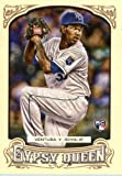 2014 Topps Gypsy Queen Baseball Rookie Card #93 Yordano Ventura RC Mint Condition. rookie card picture