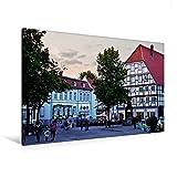 Premium Textil-Leinwand 120 x 80 cm Quer-Format Markt   Wandbild, HD-Bild auf Keilrahmen, Fertigbild auf hochwertigem Vlies, Leinwanddruck von U boeTtchEr