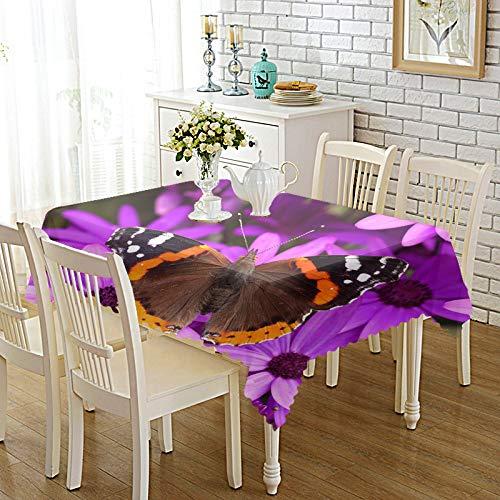 DREAMING-Verdickte Bedruckte Stoff Tischdecke Home Esstisch Stoff Tv-Schrank Couchtisch Stoff Runde Tisch Tischset 110cm * 170cm