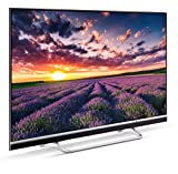 METZ Blue Q36 49 Zoll Smart 4K UHD Fernseher, Android 8.0, 4 Lautsprecher, Triple Tuner, Netflix, YouTube (HDMI, CI-Slot, USB, digital Audio)