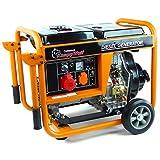 KnappWulf KW5500 - Generador trifásico eléctrico diésel de 5000 vatios