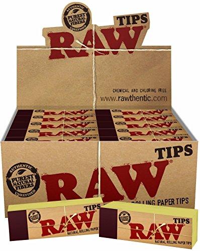 Raw puntas de papel de liar 10 folletos (1)